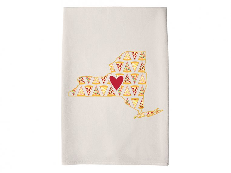 Patterned Hometown Heart Hand Towel by Coast & Cotton - 31