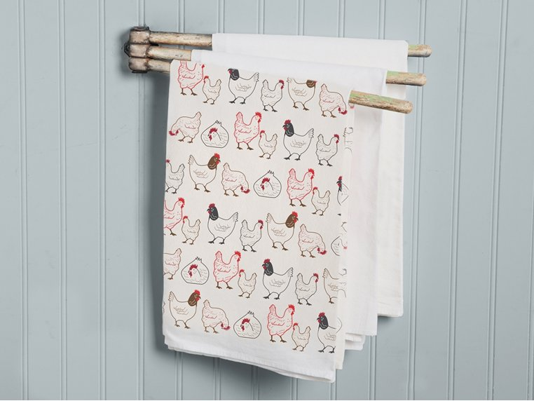 Patterned Hand Towel by Coast & Cotton - 1