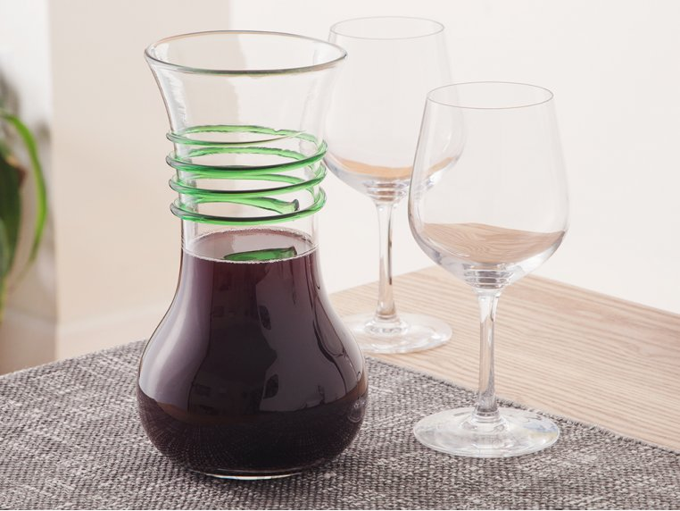Wine Carafe Vase by Blenko Glass Company - 2