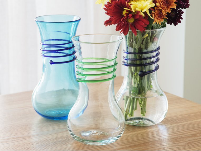 Wine Carafe Vase by Blenko Glass Company - 1