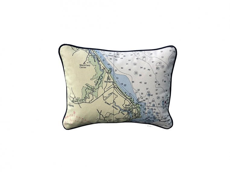 Custom Nautical Pillow by Not for Navigation - 8