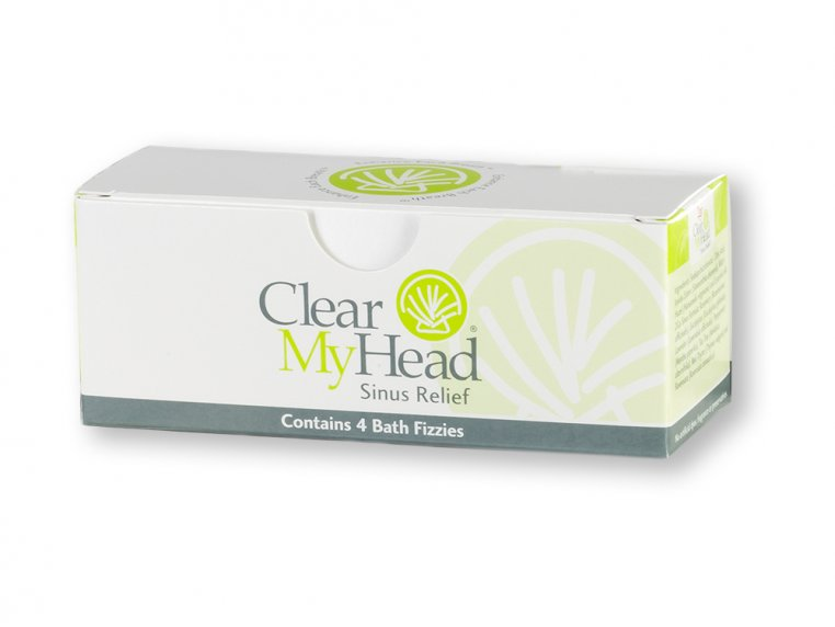 Sinus Relief Bath & Shower Fizzies by Clear My Head - 5