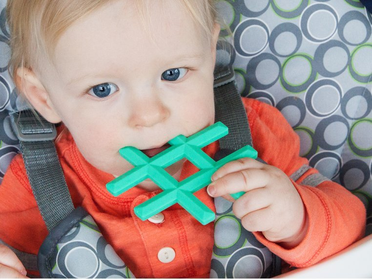 Silicone Baby Teether Toys by Little Standout - 4