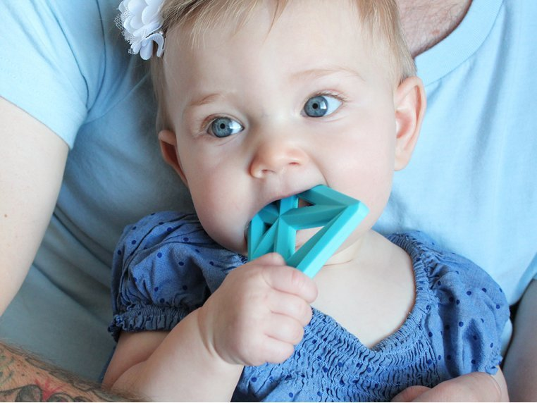 Silicone Baby Teether Toys by Little Standout - 5
