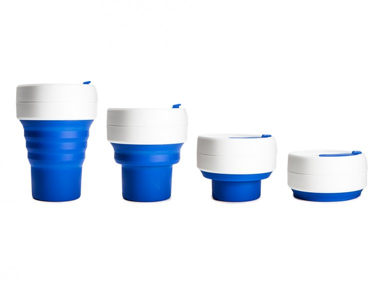 Collapsible Travel Cup by Stojo - 7