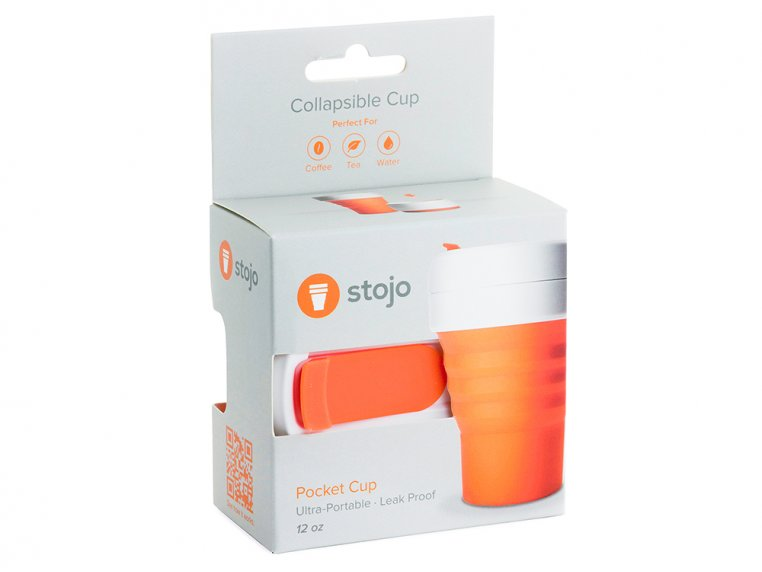 Collapsible Travel Cup by Stojo - 8