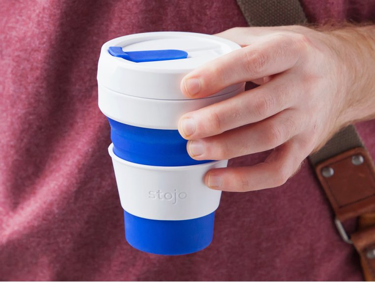 Collapsible Travel Cup by Stojo - 1