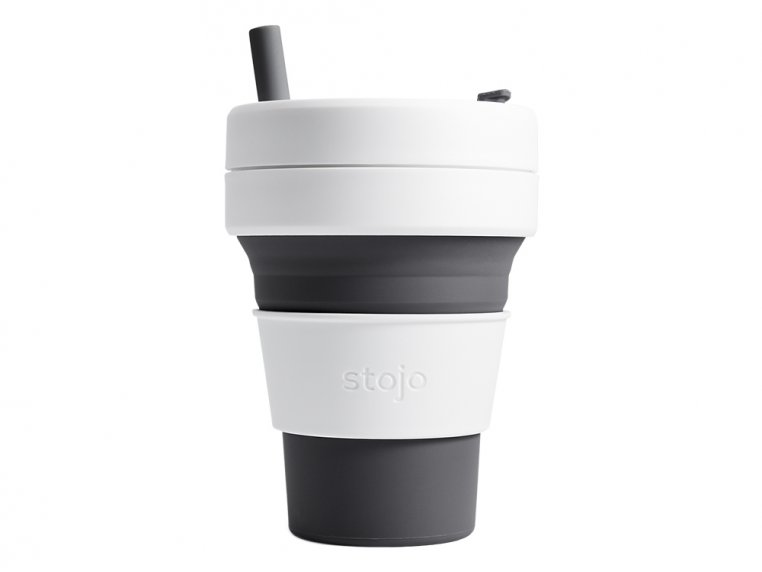 Collapsible Travel Cup by Stojo - 13