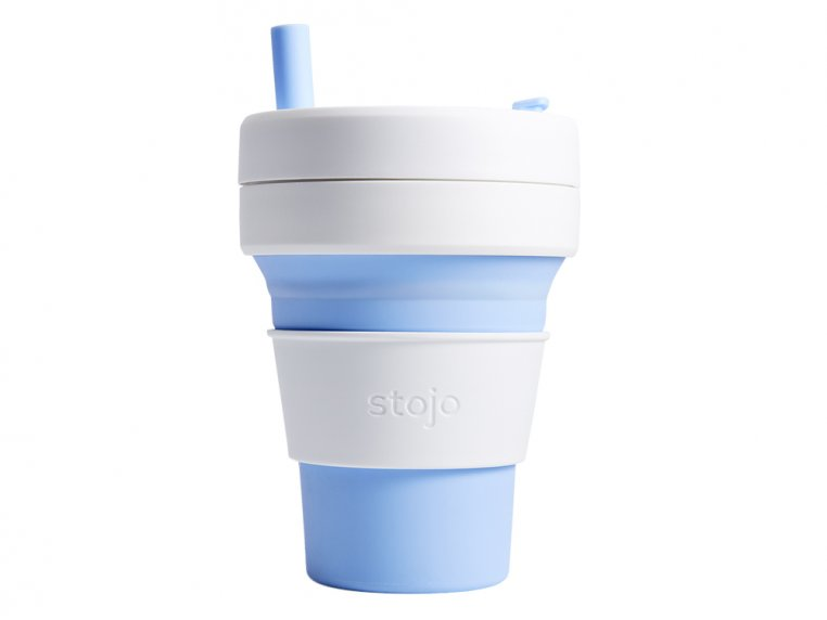 Collapsible Travel Cup by Stojo - 14