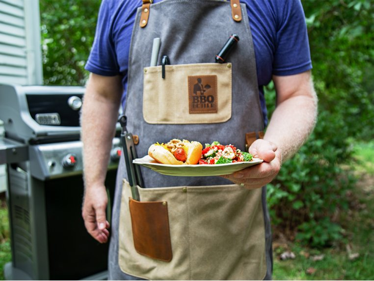 Canvas Apron by BBQ Butler - 2
