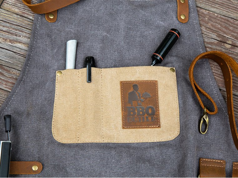 Canvas Apron by BBQ Butler - 4
