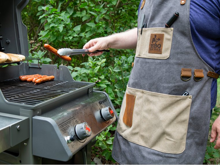 Canvas Apron by BBQ Butler - 8