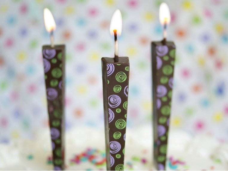 Edible Chocolate Candles - 3-pack by Let Them Eat Candles - 2