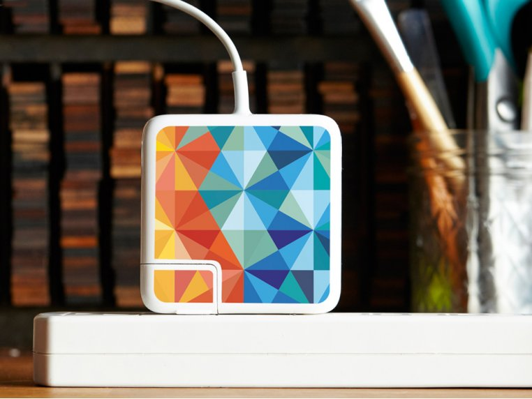 MacBook & iPhone Charger Stickers by Meo - 7