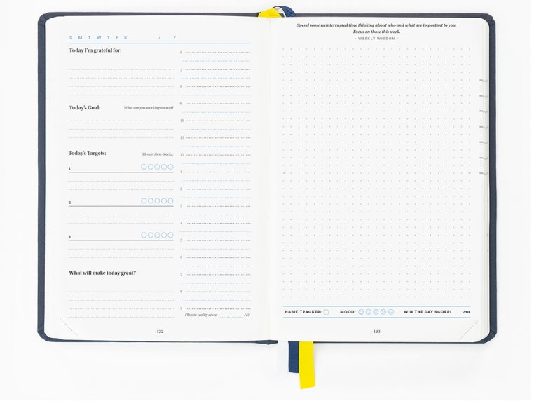 13-Week Self Care Productivity Planner by BestSelf Co. - 5