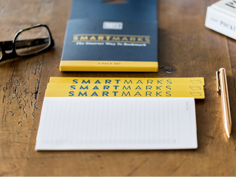 Non-Bulky Bookmark & Notepad - Set of 2 by BestSelf Co. - 3