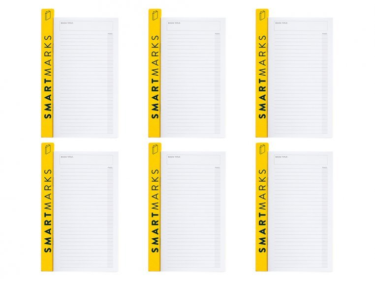 Non-Bulky Bookmark & Notepad - Set of 2 by BestSelf Co. - 5