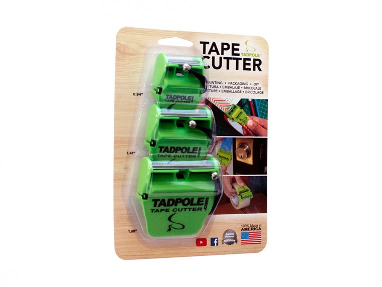 Tape Cutter Value 3-Pack by Tadpole - 8