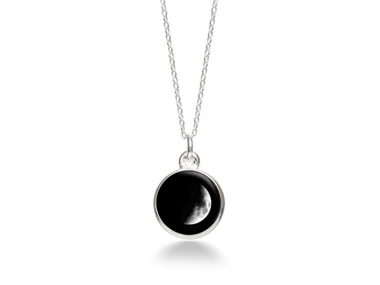 Choose Your Moon Phase Necklace - Simple Design by Moonglow - 5