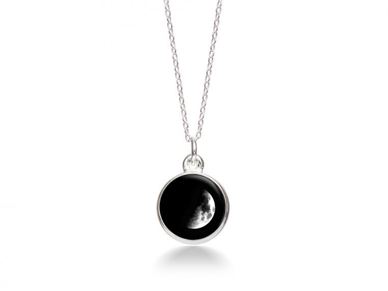 Choose Your Moon Phase Necklace - Simple Design by Moonglow - 6