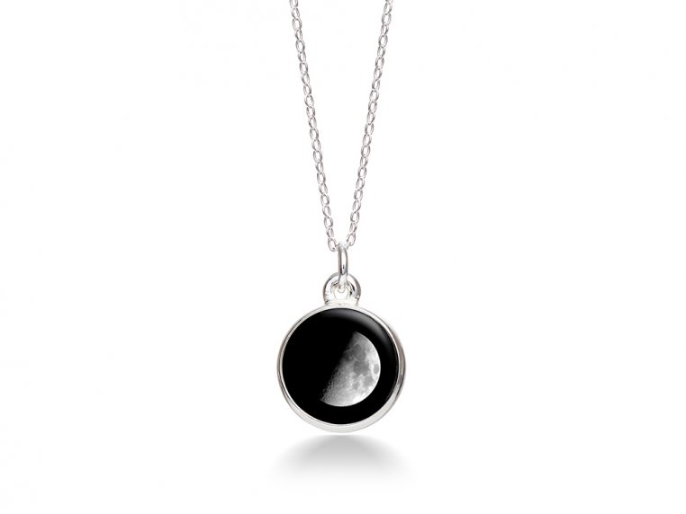 Choose Your Moon Phase Necklace - Simple Design by Moonglow - 7