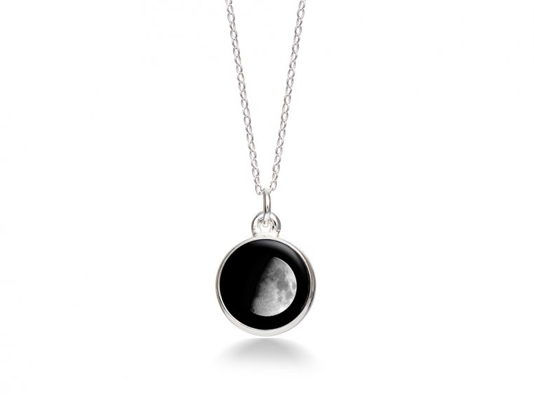 Choose Your Moon Phase Necklace - Simple Design by Moonglow - 8