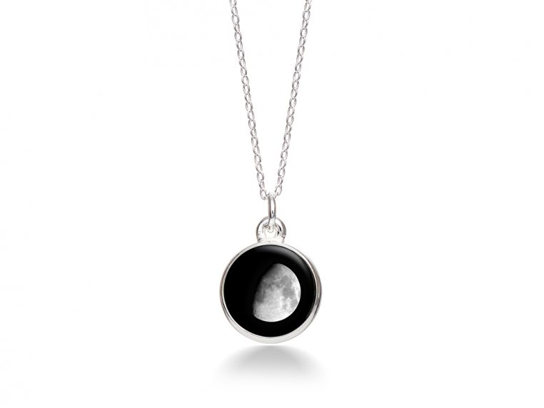 Choose Your Moon Phase Necklace - Simple Design by Moonglow - 9