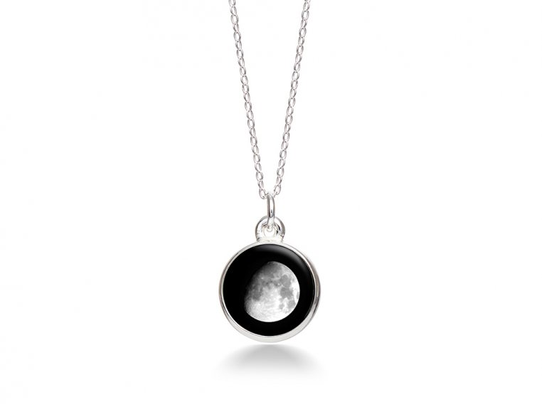 Choose Your Moon Phase Necklace - Simple Design by Moonglow - 10