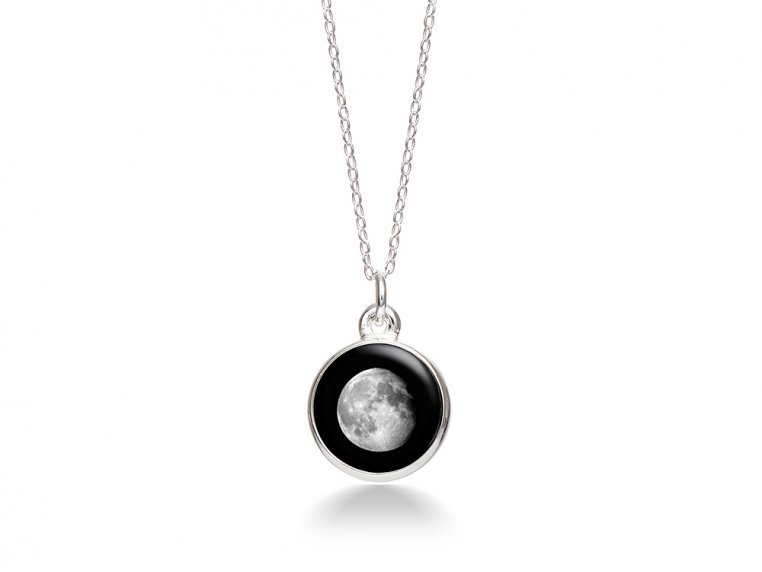 Choose Your Moon Phase Necklace - Simple Design by Moonglow - 12