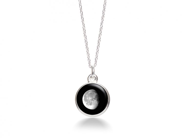 Choose Your Moon Phase Necklace - Simple Design by Moonglow - 13