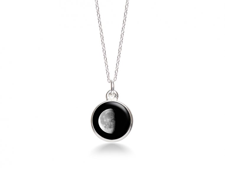 Choose Your Moon Phase Necklace - Simple Design by Moonglow - 14