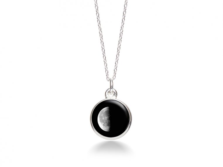 Choose Your Moon Phase Necklace - Simple Design by Moonglow - 15