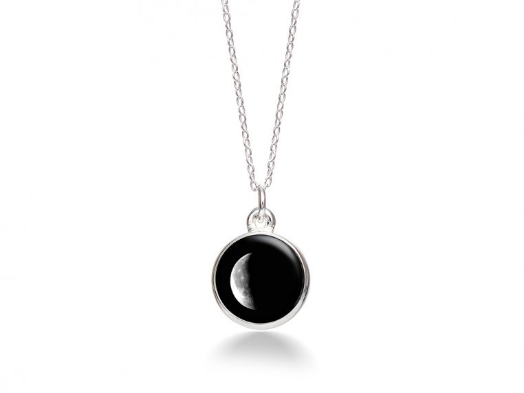 Choose Your Moon Phase Necklace - Simple Design by Moonglow - 17