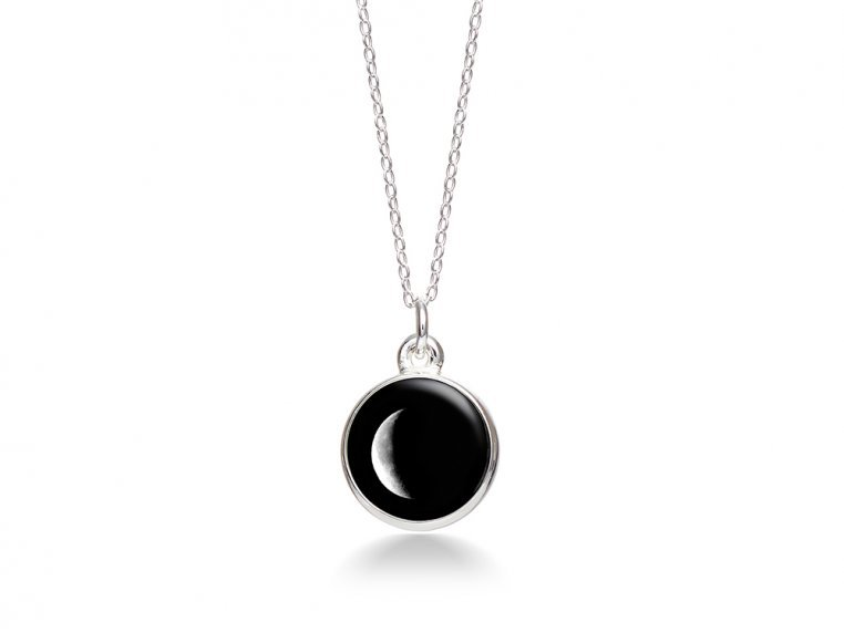 Choose Your Moon Phase Necklace - Simple Design by Moonglow - 18