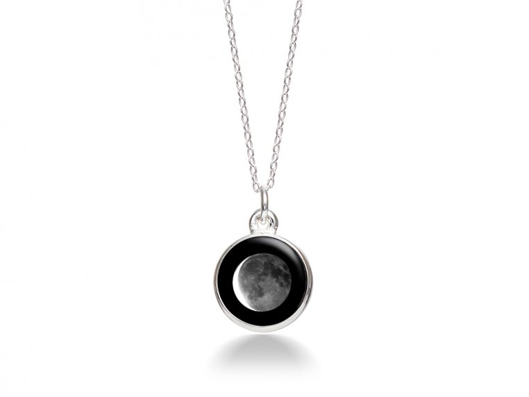 Choose Your Moon Phase Necklace - Simple Design by Moonglow - 19