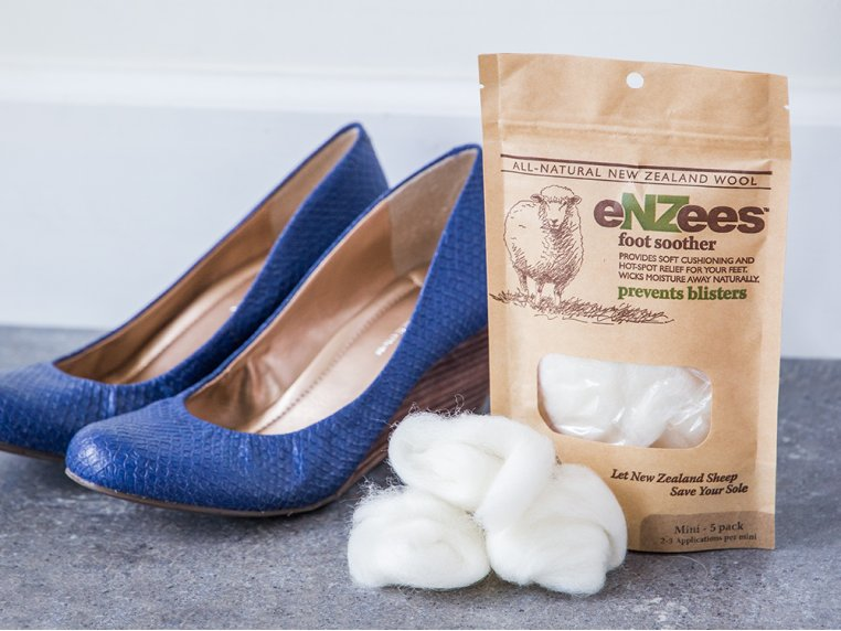 Wool Blister Relief - 5 Mini Packs by eNZees Foot Soother - 5