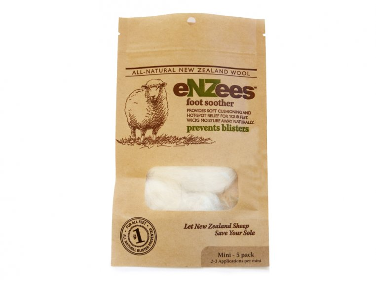 Wool Blister Relief - 5 Mini Packs by eNZees Foot Soother - 9