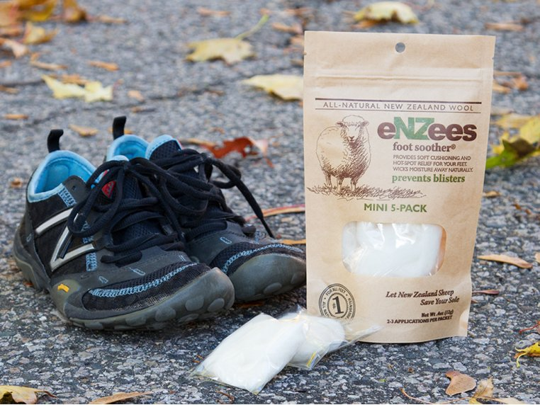 Wool Blister Relief - 5 Mini Packs by eNZees Foot Soother - 1