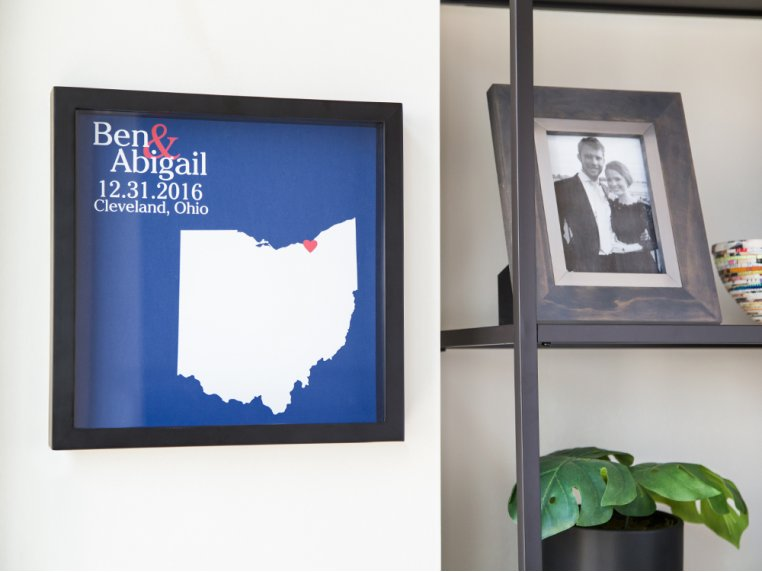 Custom State Outline Shadow Box by Define Design 11 - 2
