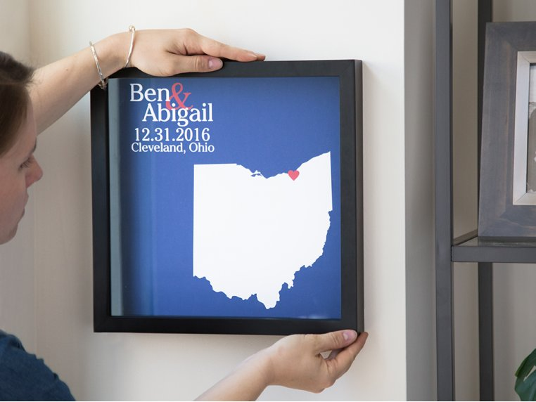 Custom State Outline Shadow Box by Define Design 11 - 1