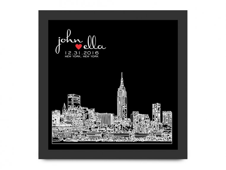Personalized Skyline Shadow Box by Define Design 11 - 6