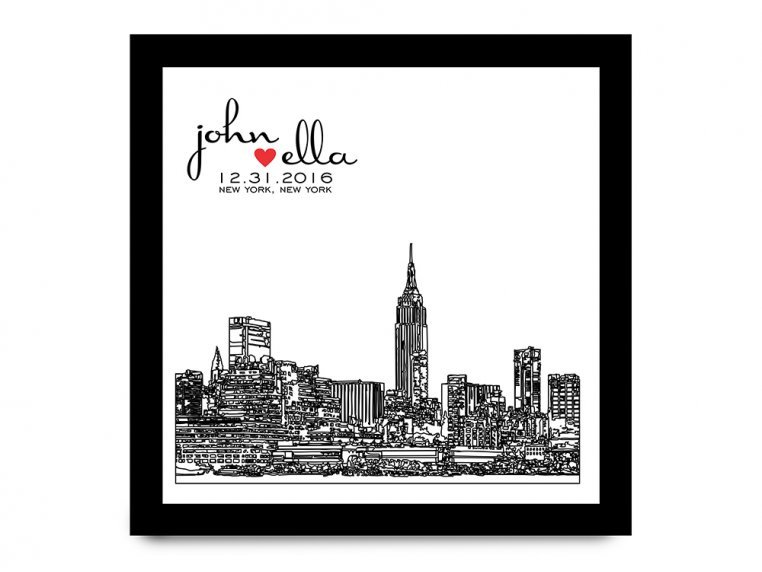 Personalized Skyline Shadow Box by Define Design 11 - 8