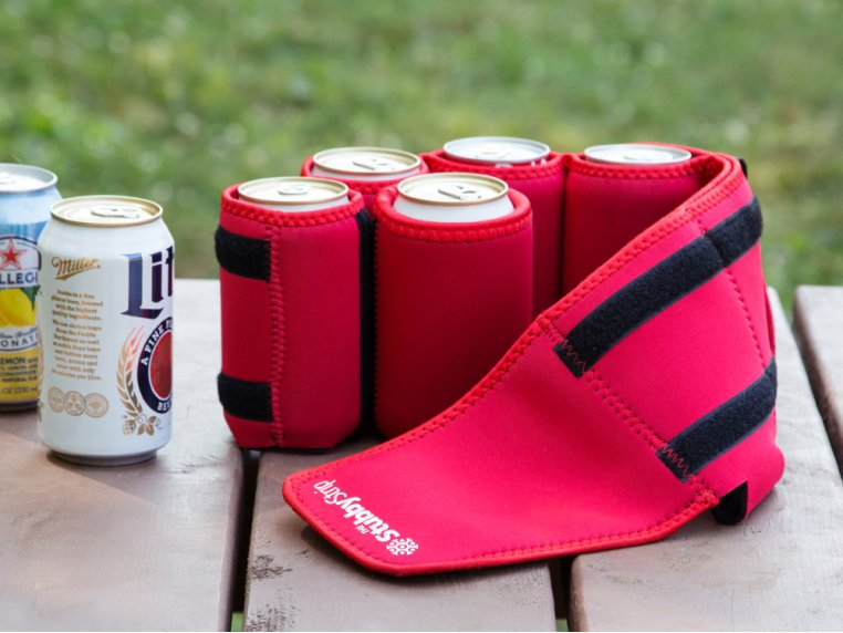 Insulated Drink Carrier by Stubby Strip - 1