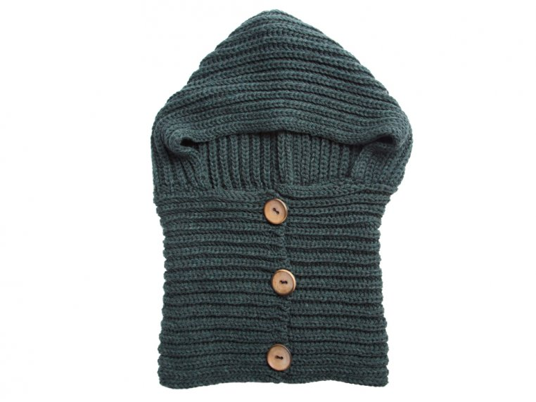 Windy Hooded Scarf by Wild Mantle - 8