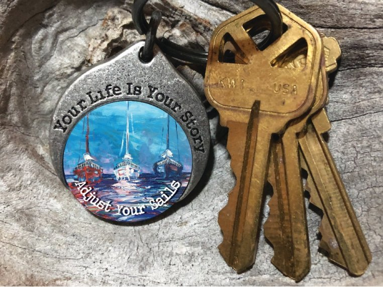 Story Coin Inspirational Keychain by the StoryCoin - 1