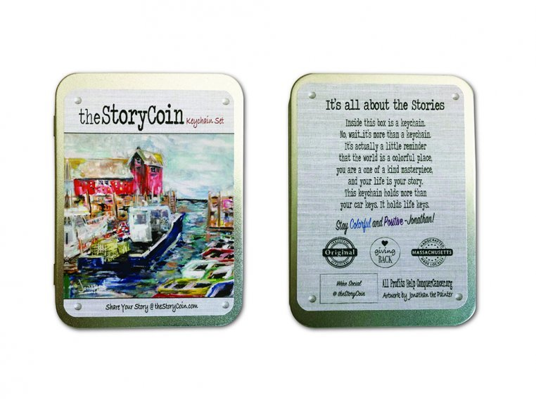 Story Coin Inspirational Keychain Set by the StoryCoin - 3