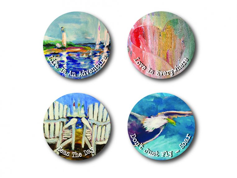 Story Coin Inspirational Keychain Set by the StoryCoin - 5