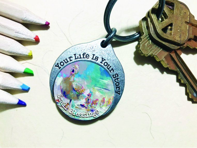Story Coin Inspirational Keychain by the StoryCoin - 3