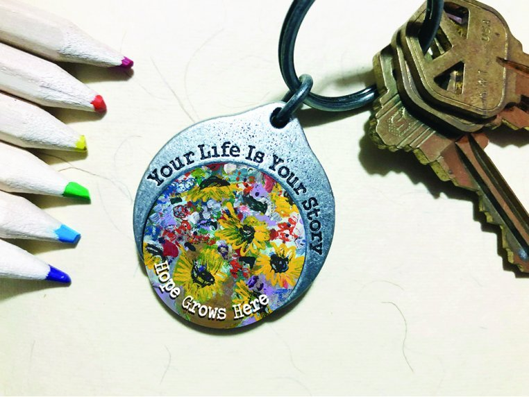Story Coin Inspirational Keychain by the StoryCoin - 4