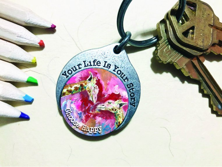 Story Coin Inspirational Keychain by the StoryCoin - 5